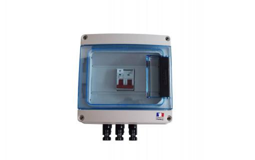 Coffret de protection DC photovoltaïque 1 MPPT - 600 V
