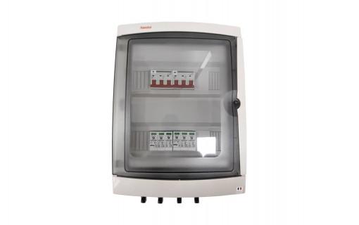 Coffret de protection DC photovoltaïque 2 MPPT - 1000 V avec parafoudre