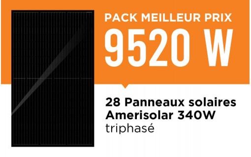 kit solaire meilleur prix 9520Wc