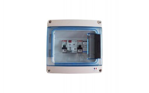 Coffret de protection AC pour 1 onduleur - 6kW