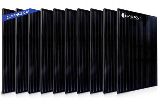 20 panneaux solaires Systovi 330 Wc