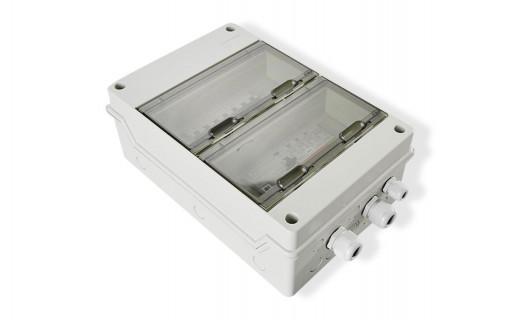 Coffret de protection AC 9kWc