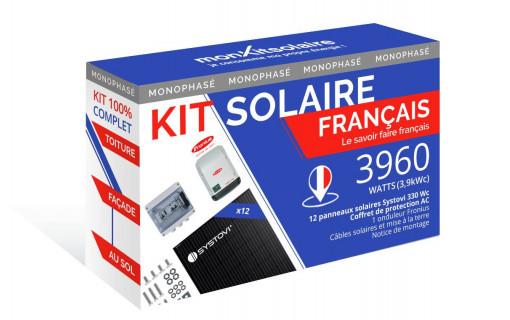 Kit Solaire Autoconsommation Français 3960W - Onduleur Fronius