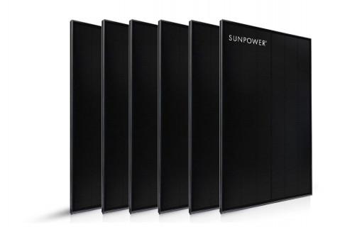 6 panneaux solaires Sunpower Performance 375 Wc
