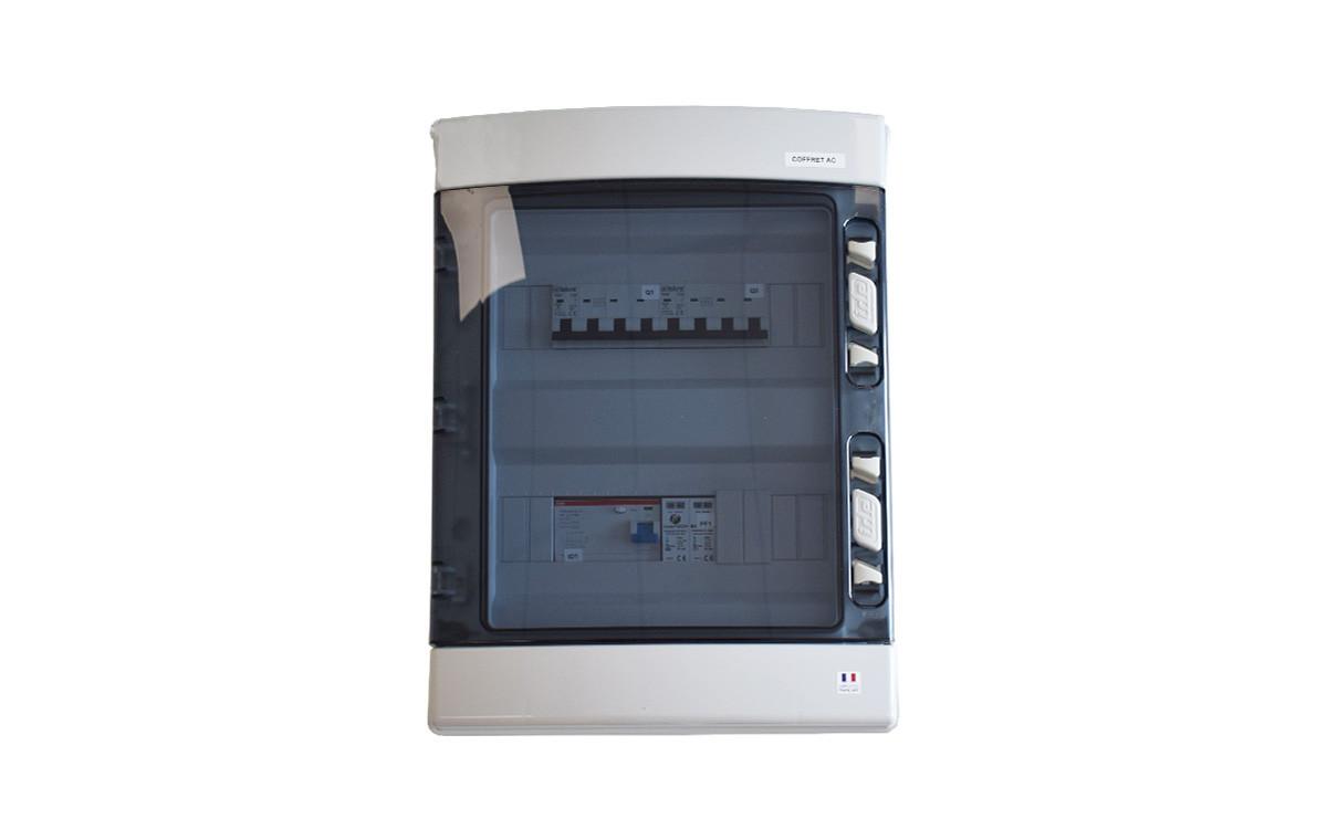 Coffret de protection AC Triphasé 9kWc