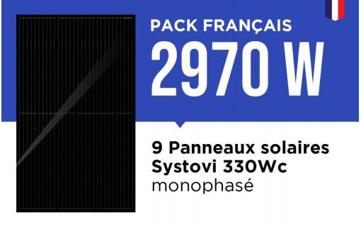 Kit solaire français 2970 Wc