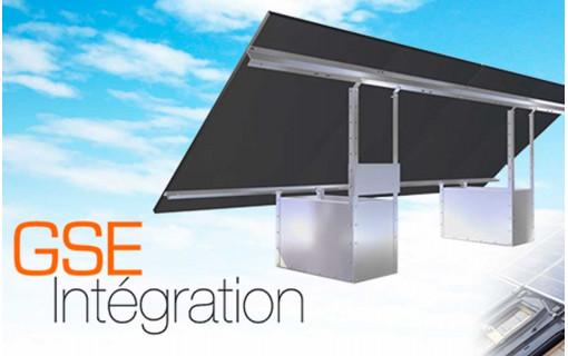 Fixation au sol du kit solaire 8 panneaux - GSE GroundSystem