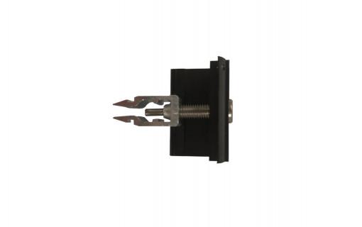 Pinces terminales Rapid noires - 30/40mm