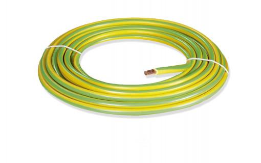 Câble de terre souple 6mm²
