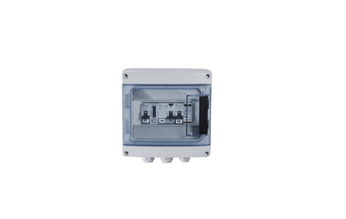 Coffret de protection AC monophasé 3kW