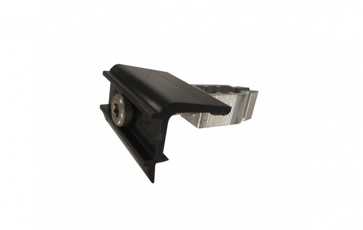 Pinces terminales Rapid noires - 40/50mm