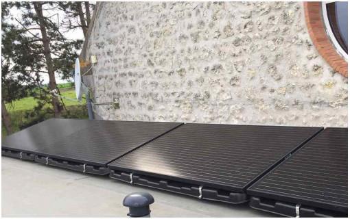 Bac à lester Renusol Consol+ 12 panneaux solaires