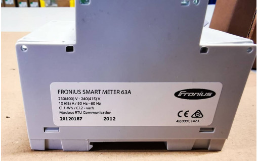 smart meter suivi production fronius
