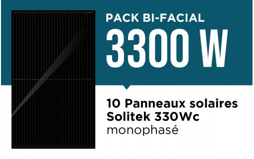 Pack bi facial 3300 wc