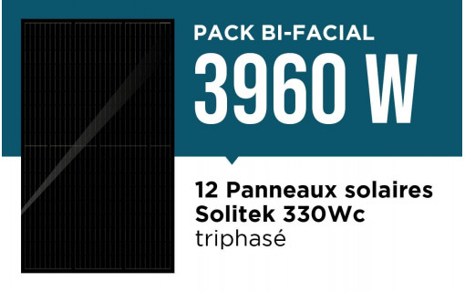 Pack bi facial 3960 wc