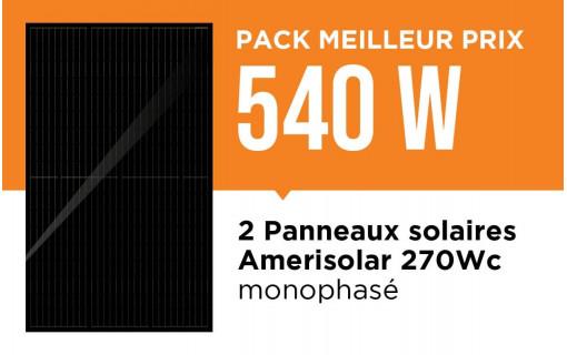 Kit solaire pas cher 500 Wc
