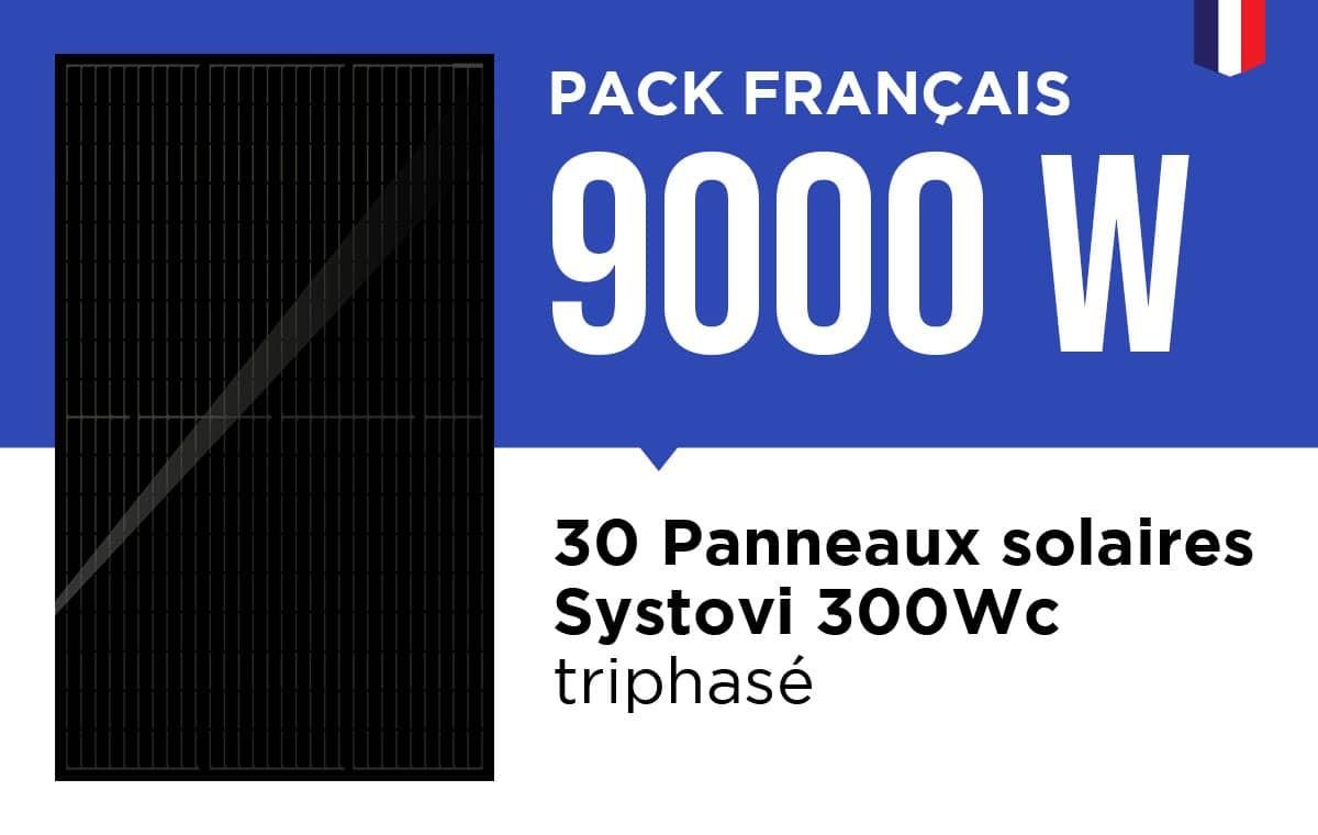 Kit solaire français 9000 Wc