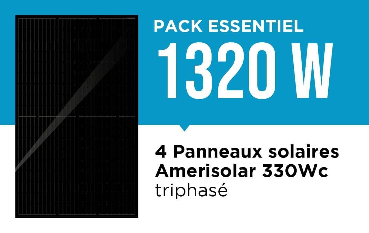 Kit solaire essentiel 1320 Wc