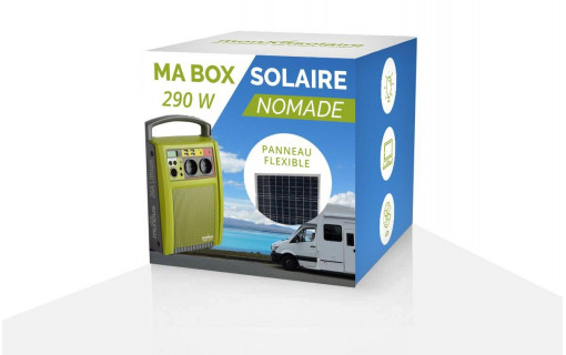 Ma box solaire nomade 290 Wc