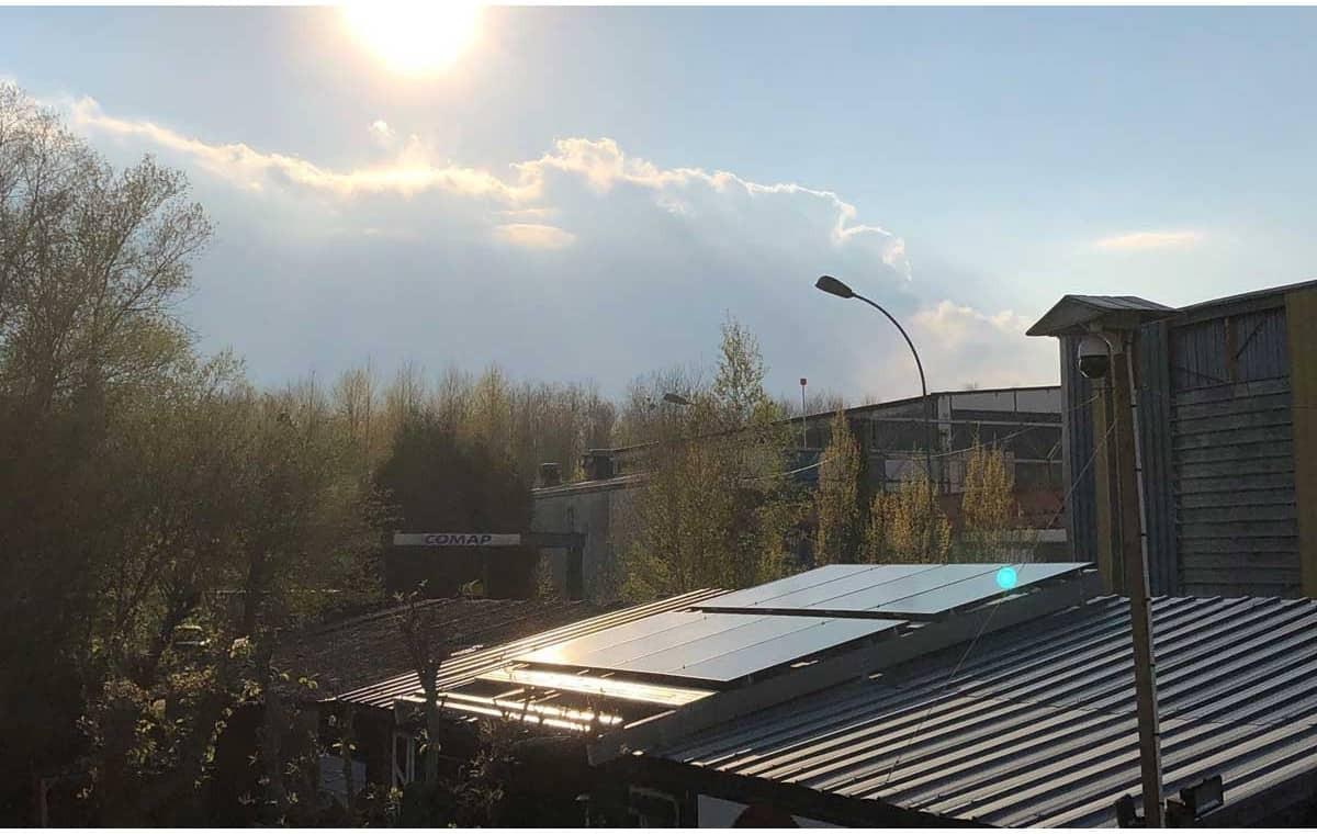 kit de fixation pour panneaux toiture bac acier 16 panneaux solaires