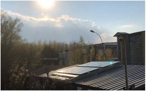 kit de fixation pour panneaux toiture bac acier 2 panneaux solaires