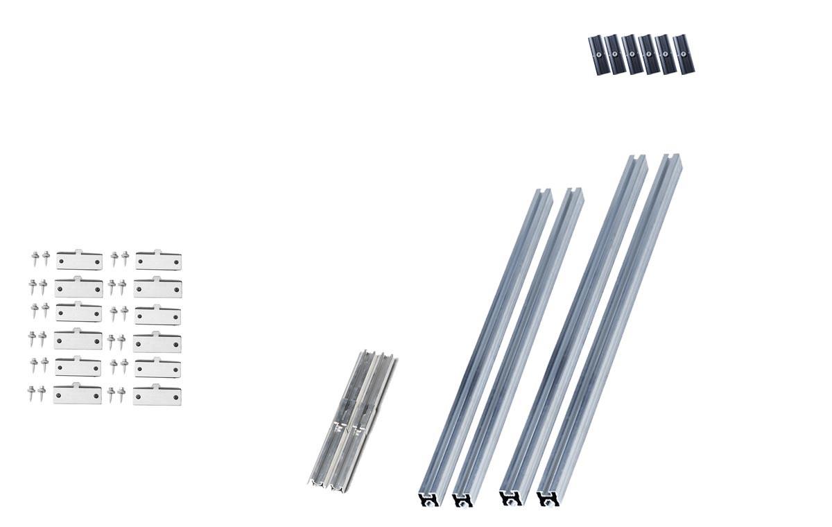 Kit de fixation toiture bac acier