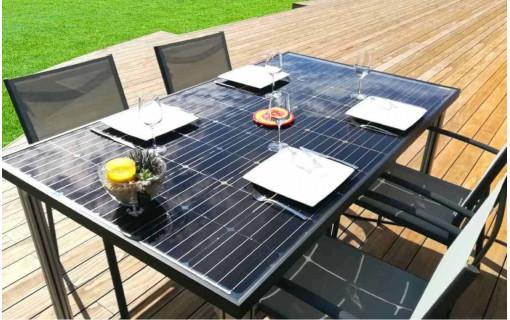 Utilisation de la table solaire photovoltaïque en autoconsommation