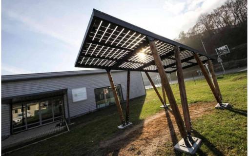 Carport solaire photovoltaïque Sun Shelter 3000Wc