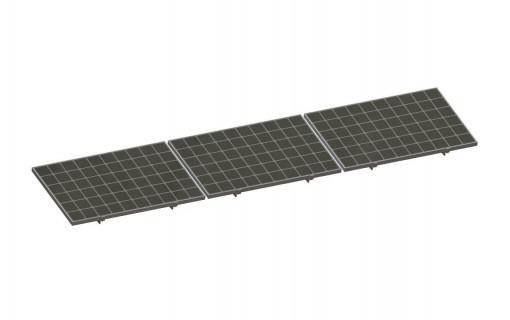 Panneaux solaire kit de fixation façade brise solaire