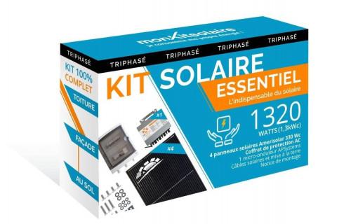 Kit solaire autoconsommation essentiel 1320 Wc