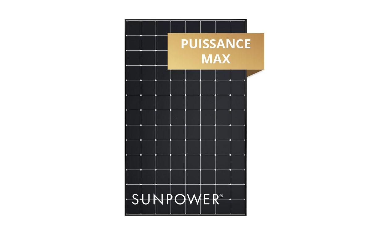 Panneau solaire AC Sunpower 400Wc monocristallin