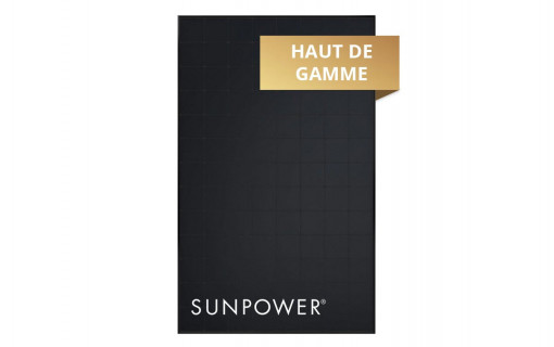 Panneau solaire SunPower 375Wc monocristallin