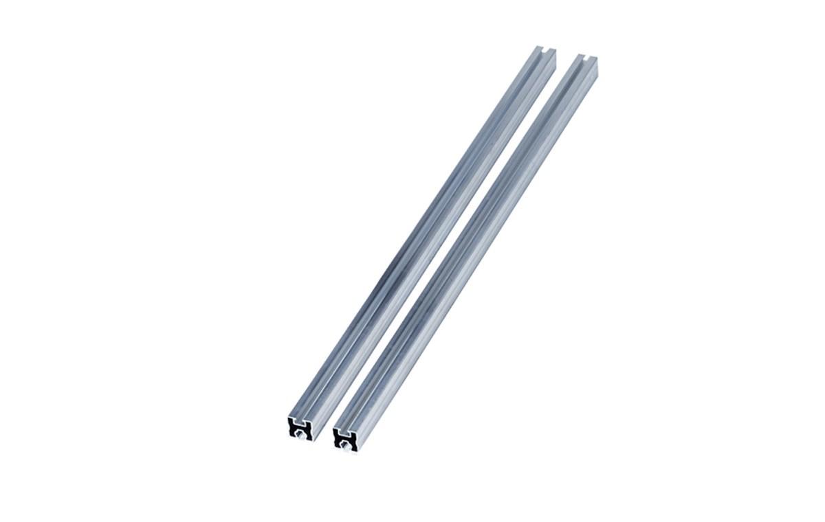2 Profilés pour kit de fixation panneau solaire - 2100 mm