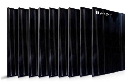 9 panneaux solaires français systovi 330 Wc