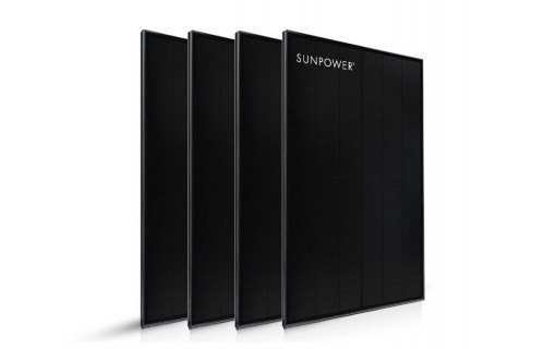 4 panneaux solaires Sunpower 375 Wc