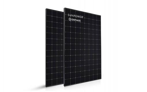 2 panneaux solaires SunPower 400 Wc