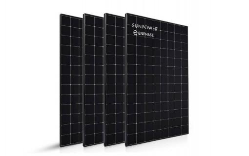 4 panneaux solaires Sunpower 400 Wc