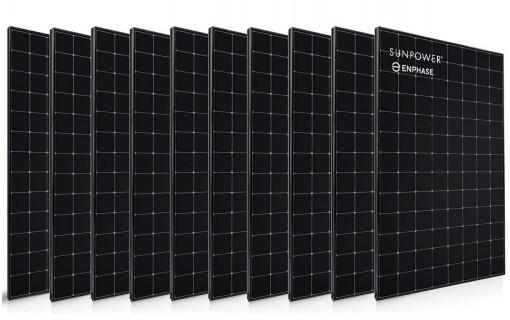 10 panneaux solaire Sunpower 400 Wc