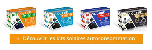 Cliquez et trouvez le kit solaire adapté à votre toiture