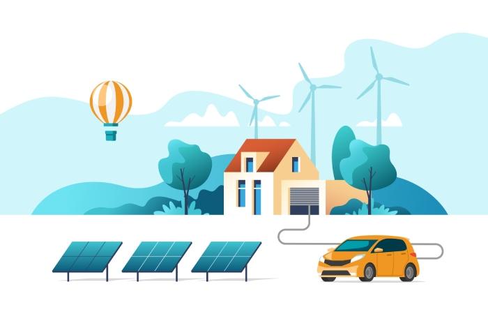 La composition du panneau solaire vs l'environnement