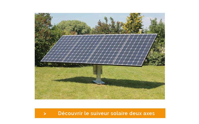 Découvrez le suiveur solaire disponible sur le site de Mon Kit Solaire