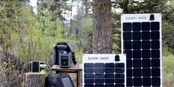 Le panneau solaire souple Sunpower est une référence