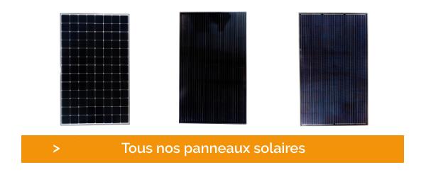 Cliquez et découvrez l'ensemble de nos panneaux solaires et leurs dimensions