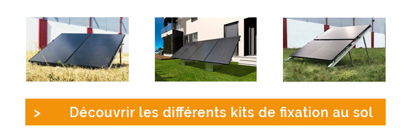 Découvrez nos différentes fixations pour l'installation de panneaux solaires sur terrain