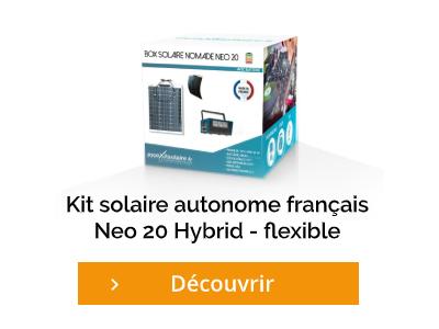 Cliquez et découvrez le kit solaire autonome français Neo 20 Hybrid
