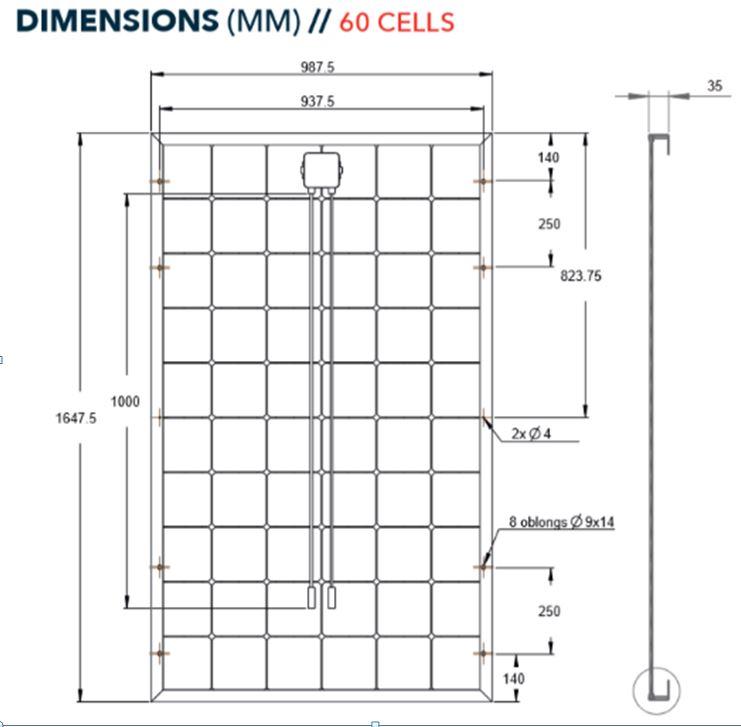 Découvrez les dimensions du panneau solaire Systovi 300W