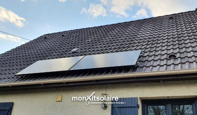 Installation client Mon Kit Solaire - Lionel