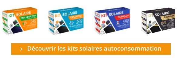 Kit solaire autoconsommation