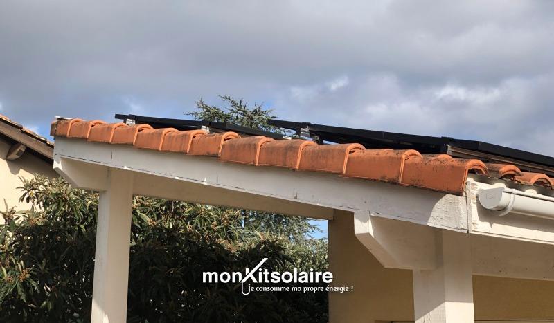 Evolukit : Ghislain a choisi d'ajouter des panneaux solaires à son installation