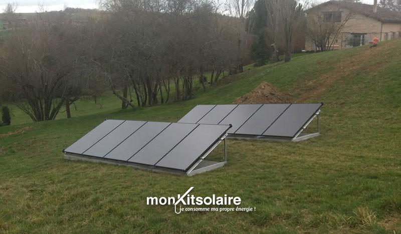 Installation du kit solaire autoconsommation 3000 W en Gironde